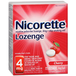 Commit Lozenge Cherry Flavor 4mg, 72 ea