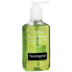 Neutrogena Oil-Free Acne Wash, Redness Soothing Facial Cleanser, 6 fl oz
