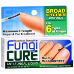 FungiCure Antifungal Liquid, extra strength, anti fungus, 1 fl oz