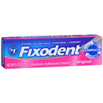 Fixodent Denture Adhesive Cream Original 0.75 oz