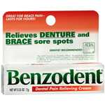 Benzodent Denture Pain Cream 0.25oz