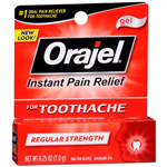 Orajel Regular Strength Gel 0.25 oz