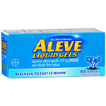 Aleve Pain Reliever/Fever Reducer, 40ct