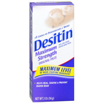 Desitin Diaper Rash Paste, Maximum Strength - 2 oz