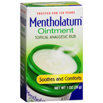 Mentholatum Topical Analgesic Ointment, 1 oz (28 g)