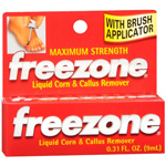 Freezone Corn and Callus Remover, 0.31 fl oz
