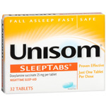 Unisom Nighttime Sleep Aid 32 Tablets