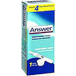 Answer Pregnancy Test 1 Each