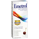 Emetrol for Nausea, Cherry Flavor Syrup, 4 fl oz
