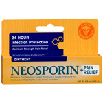 Neosporin Antibiotic Ointment Plus Pain Relief Maximum Strength 0.5 oz