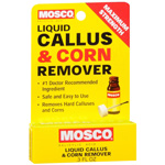 Mosco Liquid Callus & Corn Remover, Maximum Strength, 0.3 oz