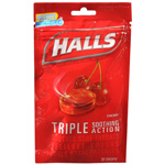 Halls Cherry Cough Drops 30ea