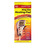 Cara Select Heat LCD Moist or Dry Heating Pads - King Size Model 73-1, 1 pad