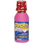 Pepto Bismol Maximum Strength Liquid for Upset Stomach Relief, Cherry