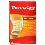 ThermaCare 12 Hours Heat Wraps Knee & Elbow, 2 ea.