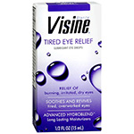Visine Tired Eye Relief Lubricant Eye Drops .5oz.