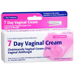 Clotrimazole Vaginal Cream USP 1% , 7-Day Vaginal Cream - 45 g