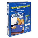 Chattanooga Standard Size Cold Pack - 11 x 14 ColPac - Blue Vinyl Ice Pack 1500