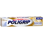 Super Poligrip Denture Adhesive Cream 2.2oz.