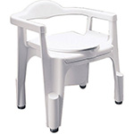 Apex-Carex Deluxe Composite Commode With Removable Back, Model No : B3