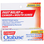 Colgate Orabase Maximum Strength Oral Pain Reliever Paste - 0.42 oz