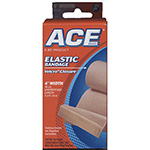 "ACE 4"" Elastic Bandage with Hook Closure"