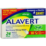Alavert 24 hr Allergy Relief Non-Drowsy, Original Flavor 18 each