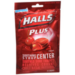 Halls Plus with Medicine Center Vapor Action Cherry 25 Drops