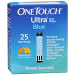 One Touch Ultra Test Strip 25