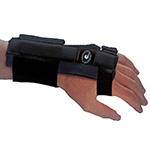 WrisTimer PM Carpal Tunnel Wrist Support for Night Universal, Black