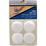 Guardian Walker Glide walker Caps - 2 Pairs/ Pack, 3 Packs