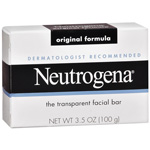Neutrogena Original Formula Facial Cleansing Bar Fragrance-Free, 3.5oz
