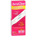 Accu Clear Early Pregnancy Test Value Pack, 2 Ea