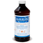 Alkalol Mucus Solvent and Cleaner, 16 fl oz bottle