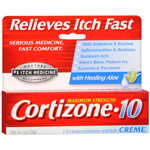 Cortizone 10 Maximum Strength Anti-Itch Cream With Aloe - 1 oz