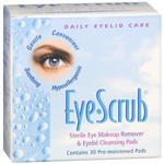 Eyescrub Lid Cleanser Pad 30 ct