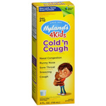 Hylands Cold N Cough 4 Kids Bottle