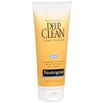 Neutrogena Deep Clean Cream Facial Cleanser Oil Free - 7 oz