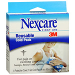 3M Nexcare Reusable Cold Pack Model: 2646 4 In X 10 In, 1 Ea