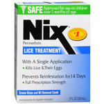 Nix Lice Treatment - #782, 2 oz