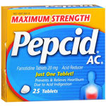 Pepcid AC Tablets Maximum Strength 25ct