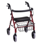 "NOVA ""Cruiser Deluxe"" 4202 Walker, Red"
