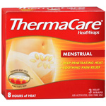 ThermaCare Air-Activated Heatwraps, Menstrual Cramp Relief, 3 ea