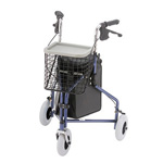 "NOVA ""Traveler"" 4900 3-Wheel Walker, Blue"