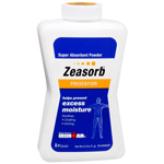 Zeasorb Super Absorbent Powder - 2.5 oz