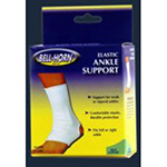 Bell-Horn Ankle Support Elastic White XXL 13.5/15""