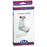 FLA Orthopedics ProLite White Left 3D Ankle Support X-Small 1ea.