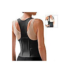 Fla Orthopedic Cincher Men Back Support Black Medium, #6000MB