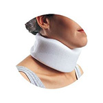 Bell Horn Cervical Collar, White, 2.5""
