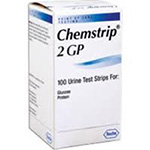Chemstrip 2gp Test For Glucose & Protein, 100/vial